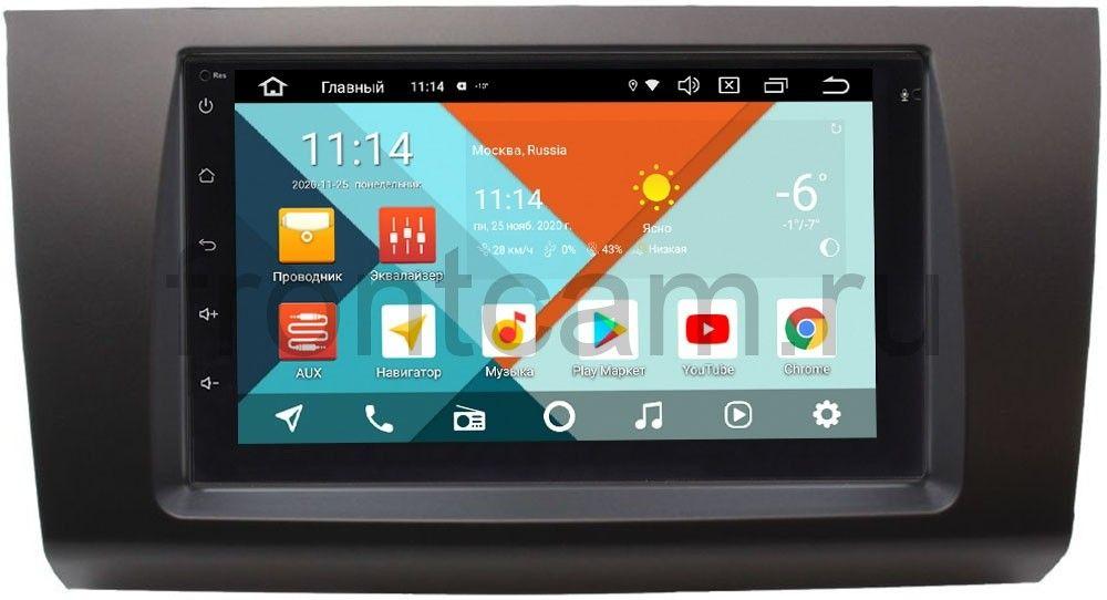 Магнитола в штатное место 2 din Suzuki Swift III 2004-2010 Wide Media MT7001PK-2/16-RP-SZSW2B-156 на Android 9.1 (DSP 3G-SIM) (+ Камера заднего вида в подарок!)