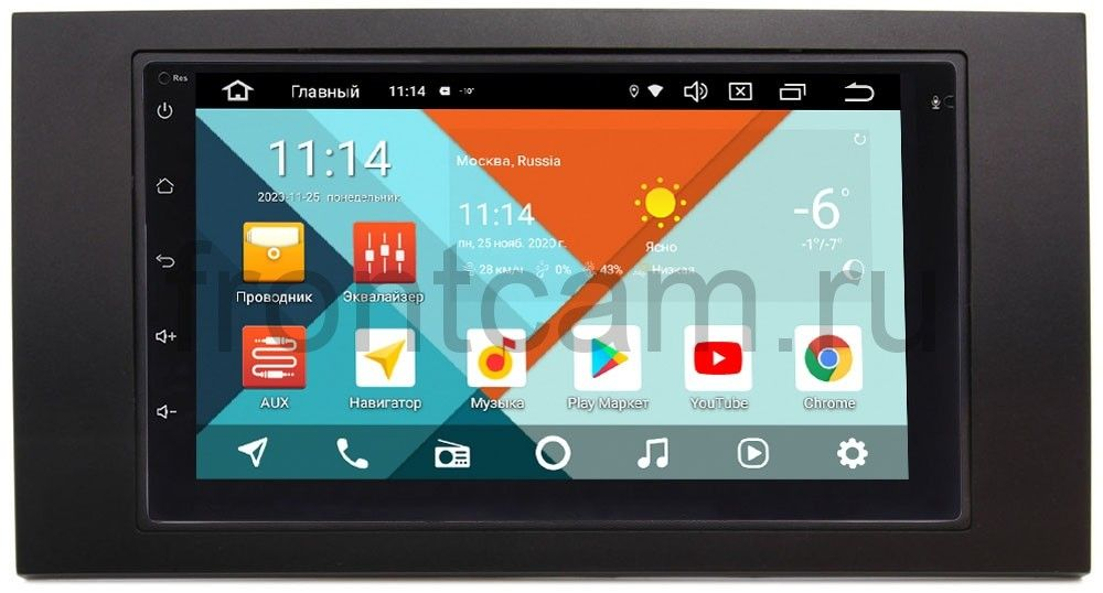 Штатная магнитола Ford Kuga, Fiesta, Fusion, Focus, Mondeo Wide Media MT7001PK-2/16-RP-FRFC-35 на Android 9.1 (DSP 3G-SIM) (+ Камера заднего вида в подарок!)