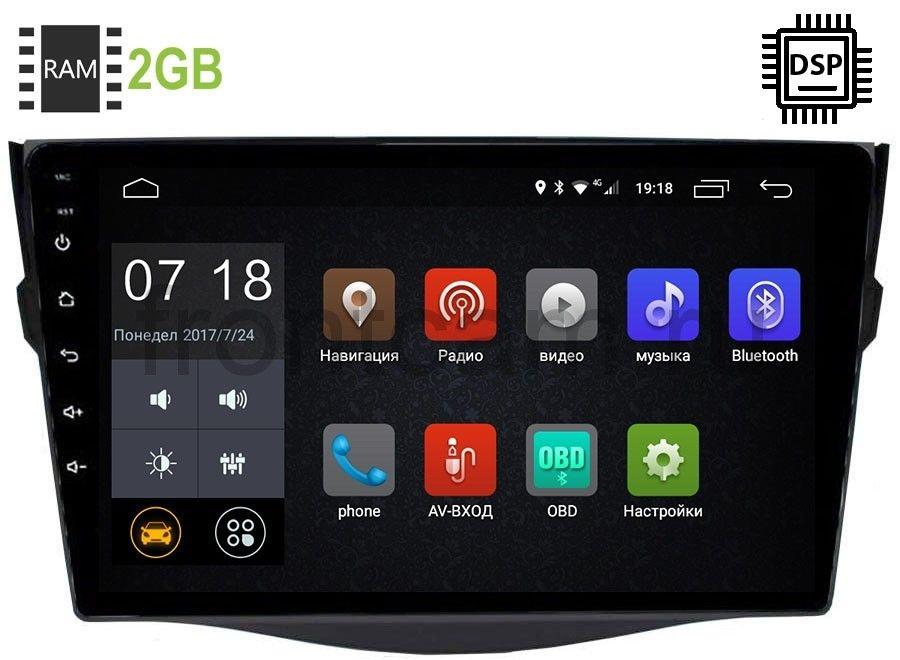 Штатная магнитола Toyota RAV4 (XA30) 2006-2013 LeTrun 2905-2986 Android 9.0 9 дюймов (DSP 2/16GB) 9086 (+ Камера заднего вида в подарок!)