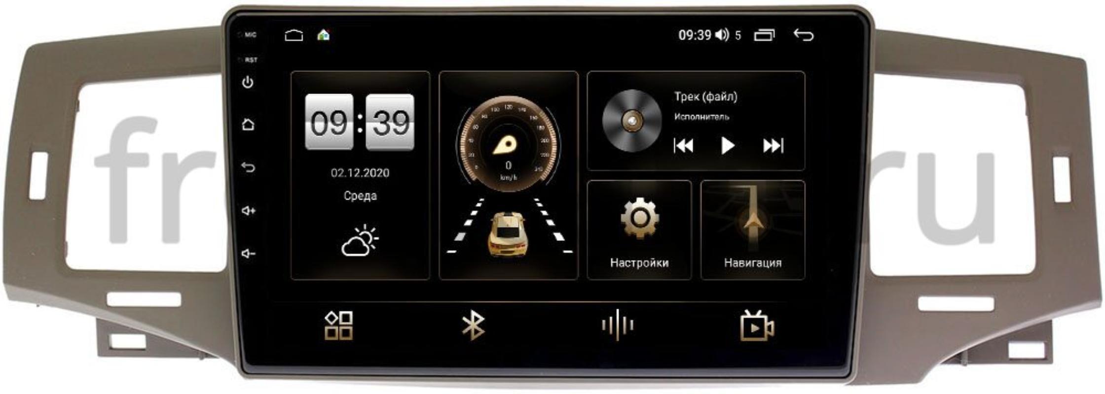 Штатная магнитола LeTrun 4166-9238 для Toyota Corolla IX, Allex 2000-2007 на Android 10 (4G-SIM, 3/32, DSP, QLed) (+ Камера заднего вида в подарок!)