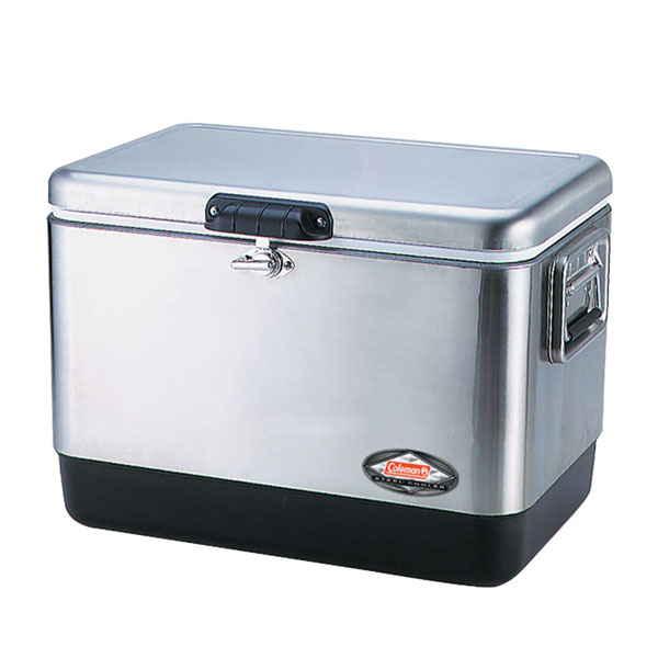 Контейнер изотермический Coleman 54 Quart Stainless Steel Cooler aroma 8 quart roaster oven
