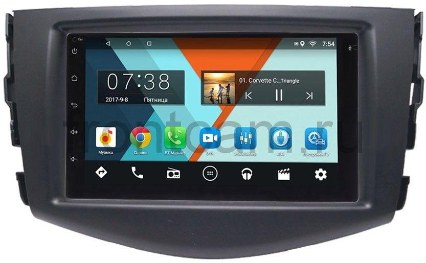 Штатная магнитола Toyota RAV4 (XA30) 2006-2013 Wide Media MT7001-RP-TYRV3Xb-13 на Android 6.0.1