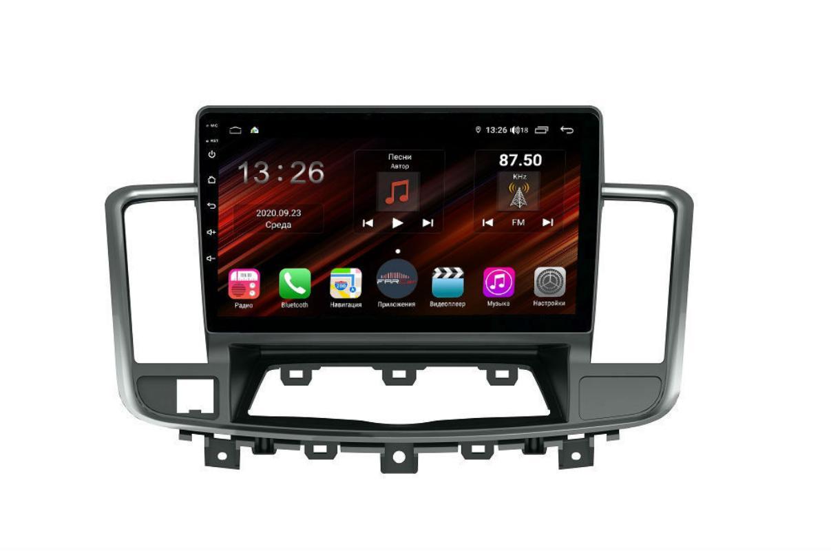 Штатная магнитола FarCar s400 Super HD для Nissan Teana на Android (XH1076R) (+ Камера заднего вида в подарок!)