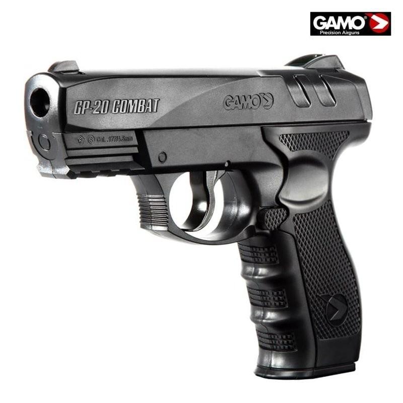 Пневматический пистолет GAMO GP-20 Combat CO2 BB Pistol цена