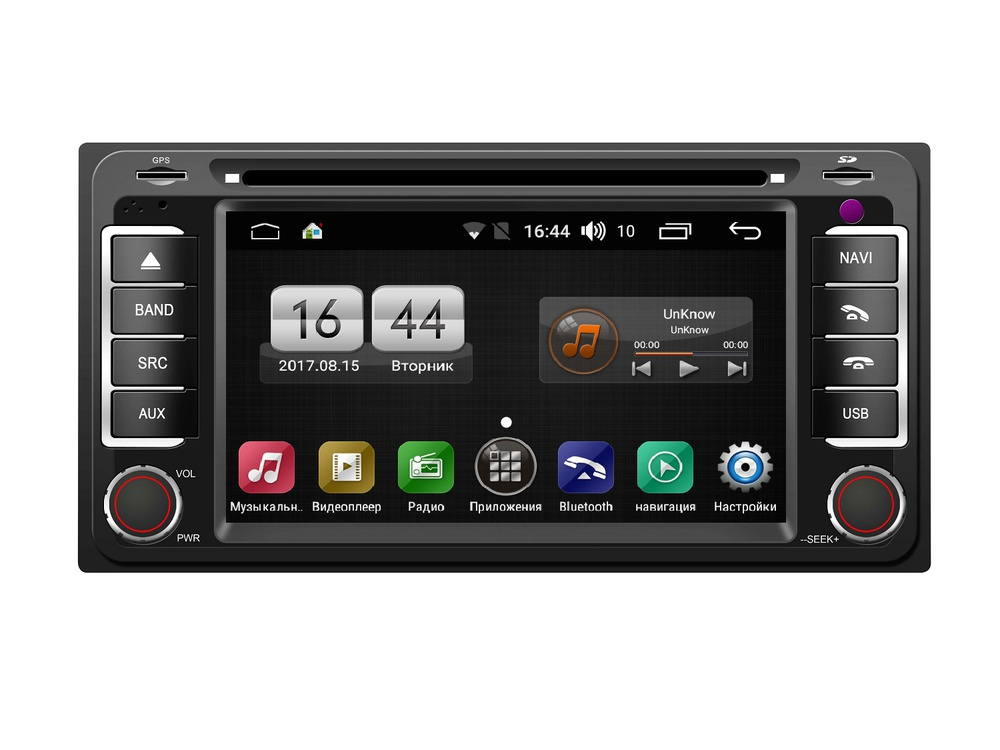 Штатная магнитола FarCar s170 для Toyota Universal на Android (L071) lsqstar 8 android4 0 capacitive screen car dvd player w gps fm bt wifi swc tv aux for toyota prius