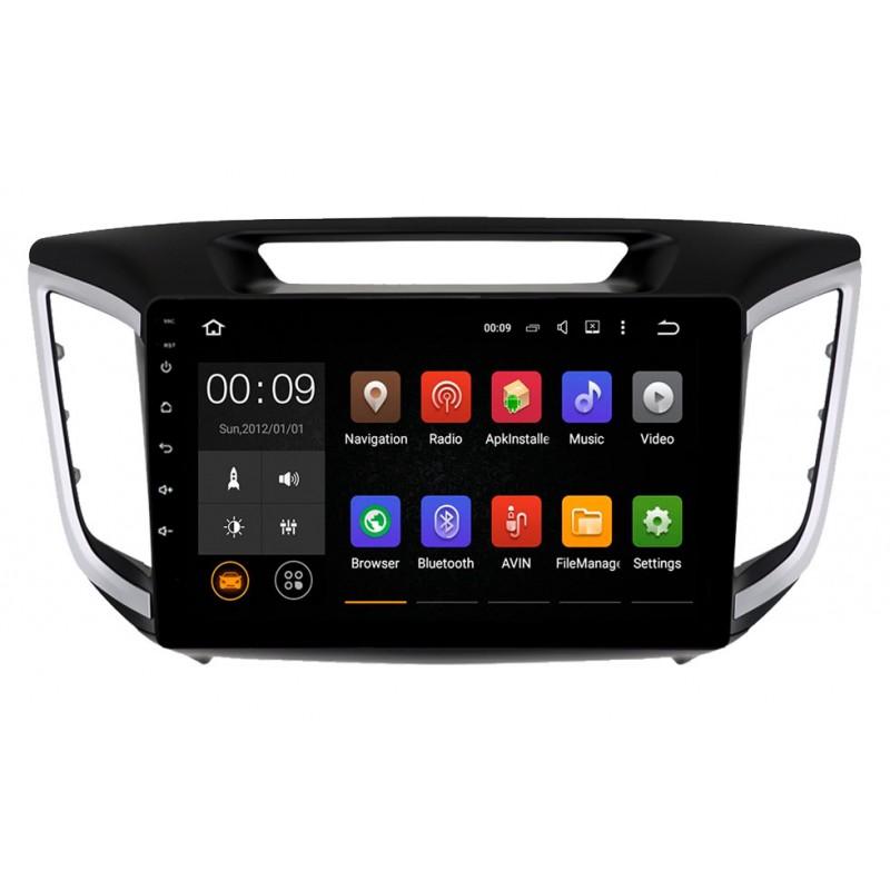 Штатная магнитола Roximo 4G RX-2010 для Hyundai Creta (Android 6.0) (+ Камера заднего вида в подарок!)