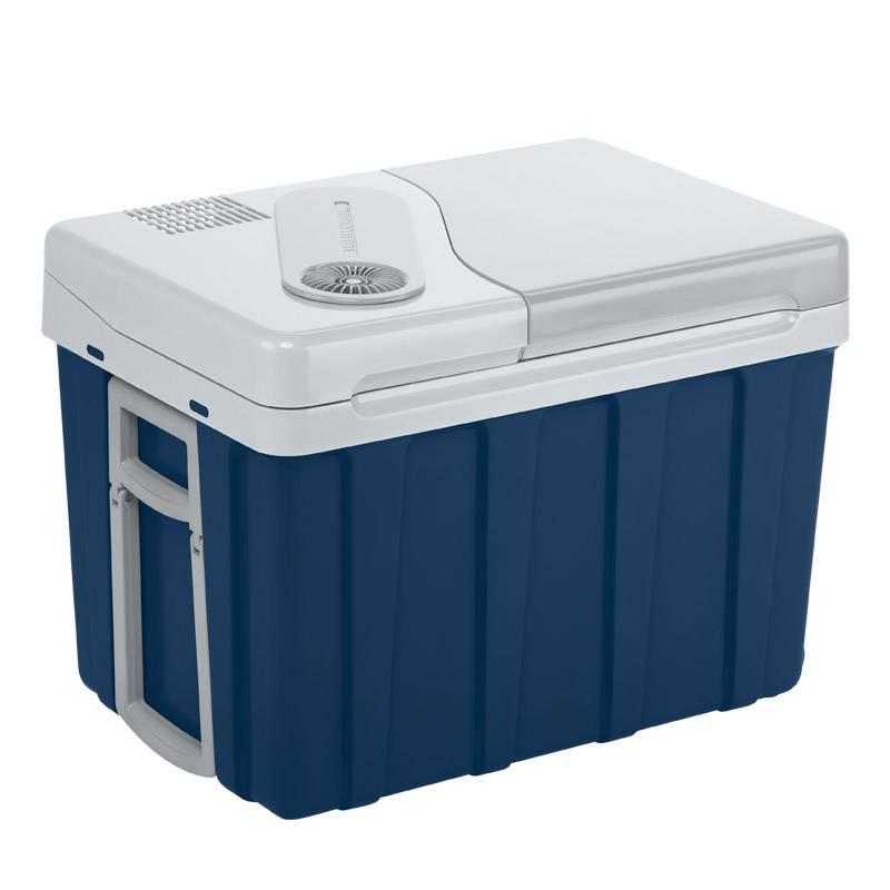 Автохолодильник термоэлектрический на колесах Mobicool W40 (+ Четыре аккумулятора холода в подарок!)