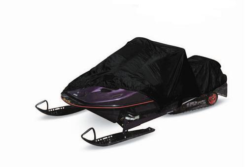 Тент-чехол на снегоход AVS SC-525 L (водонепроницаемый, чёрный) купить по супер-цене