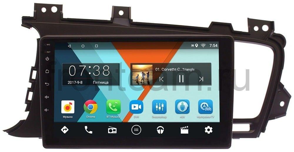 Штатная магнитола Kia Optima III 2010-2013 Wide Media MT9015MF-2/16 на Android 7.1.1 для авто без камеры штатная магнитола carmedia ol 9745 8 c500 kia optima k5 2010 2013 дорестайл