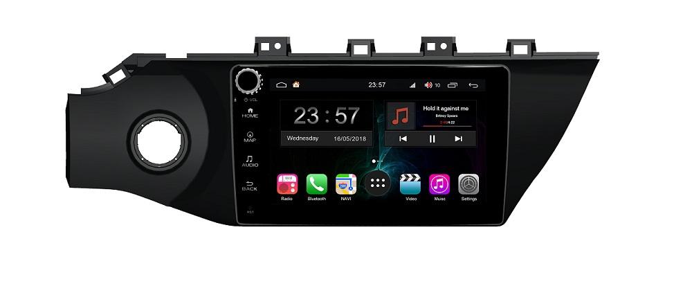 Штатная магнитола FarCar s300-SIM 4G для KIA Rio на Android (RG1160RB) (+ Камера заднего вида в подарок!)