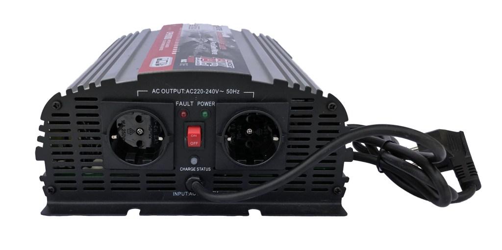 Преобразователь напряжения AcmePower AP СPS1000/12 (реальный синус, UPS) (+ Салфетки из микрофибры в подарок)