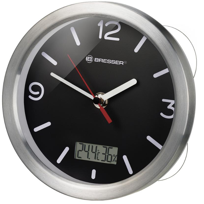 Фото - Часы Bresser MyTime Bath RC, водонепроницаемые, черные увлажнитель воздуха polaris puh 5806di
