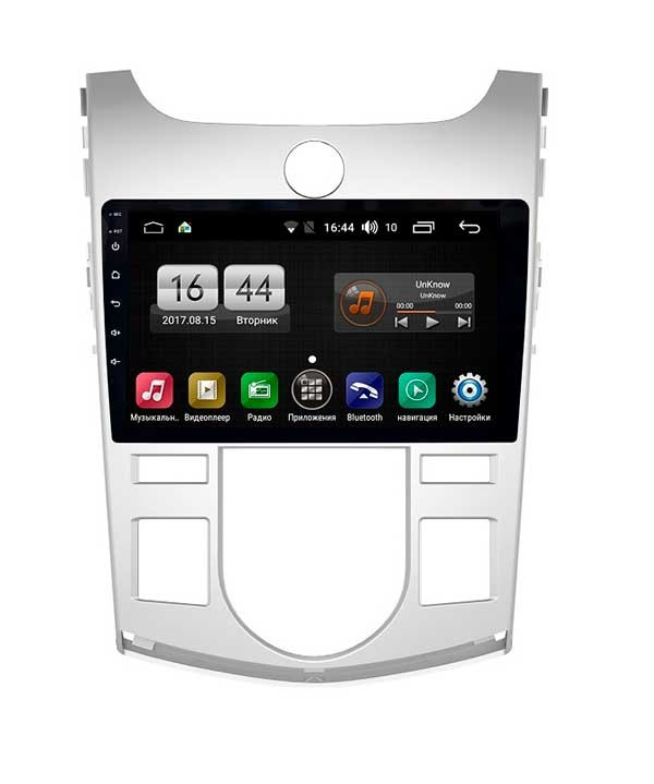 Штатная магнитола FarCar s300 для Kia Cerato 2009-2012 на Android (RL038R) (+ Камера заднего вида в подарок!) ветровики korea kia cerato sd 2009 2013