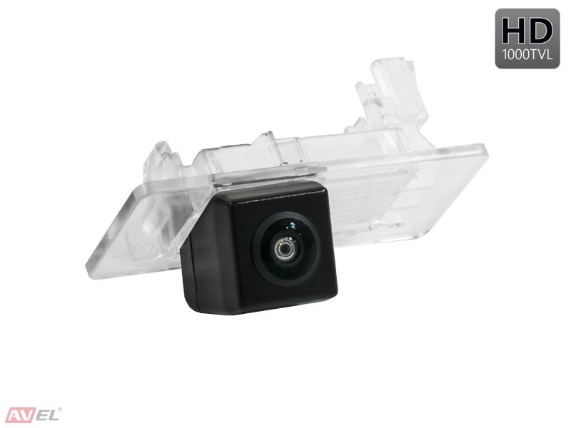 CCD HD штатная камера заднего вида AVS327CPR (#134) для SKODA SUPERB II (2013 +) / OCTAVIA A7