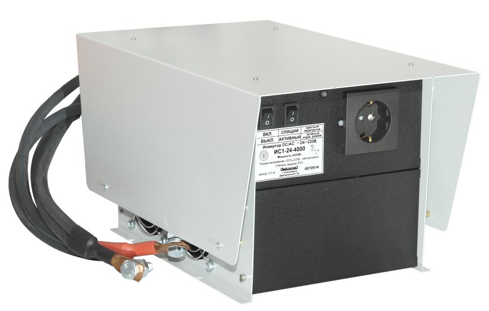 Инвертор ИС1-24-4000Р DC-AC, 24В/4000Вт