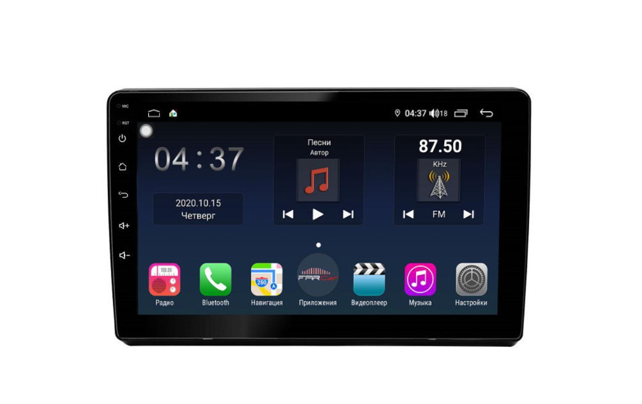 Штатная магнитола FarCar s400 для Mitsubishi Pajero на Android (TG1215R) (+ Камера заднего вида в подарок!)