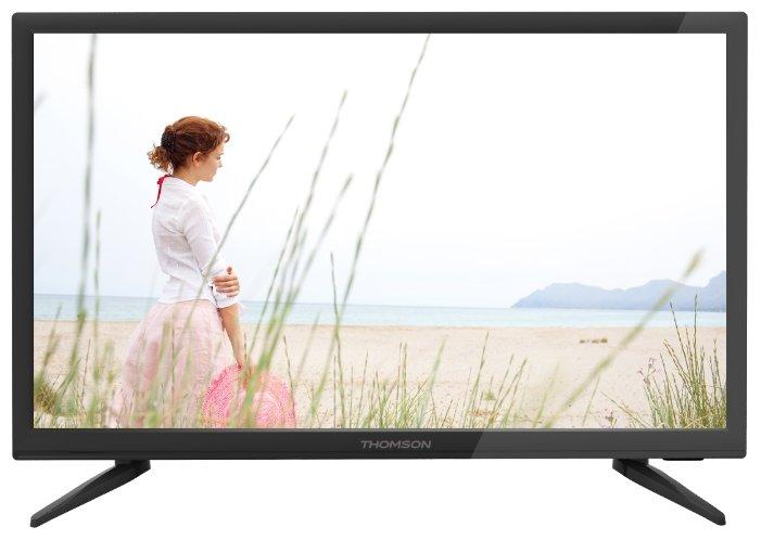 Телевизор Thomson T22FTE1020, черный телевизор thomson t40d16sf 01w белый