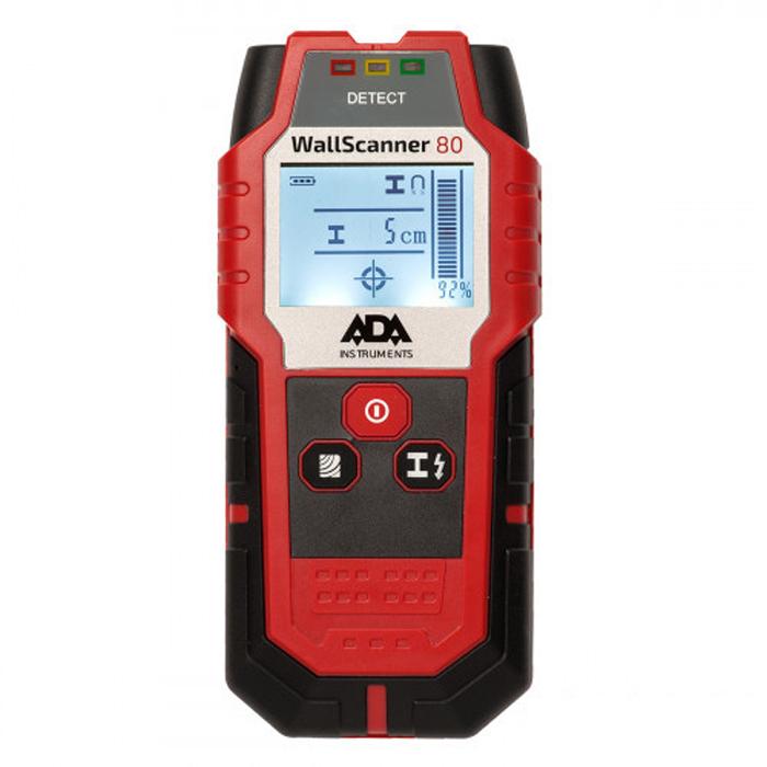 Детектор проводки ADA Wall Scanner 80 детектор металла ada wall scanner 80 [а00466]