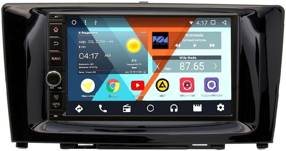 Штатная магнитола Wide Media WM-VS7A706NB-1/16-RP-GWH6-74 для Great Wall Hover H6 2011-2015 Android 7.1.2Wide Media<br>Wide Media WM-VS — платформа на совершенно новом Android 7 c вкусным названием Нуга.
