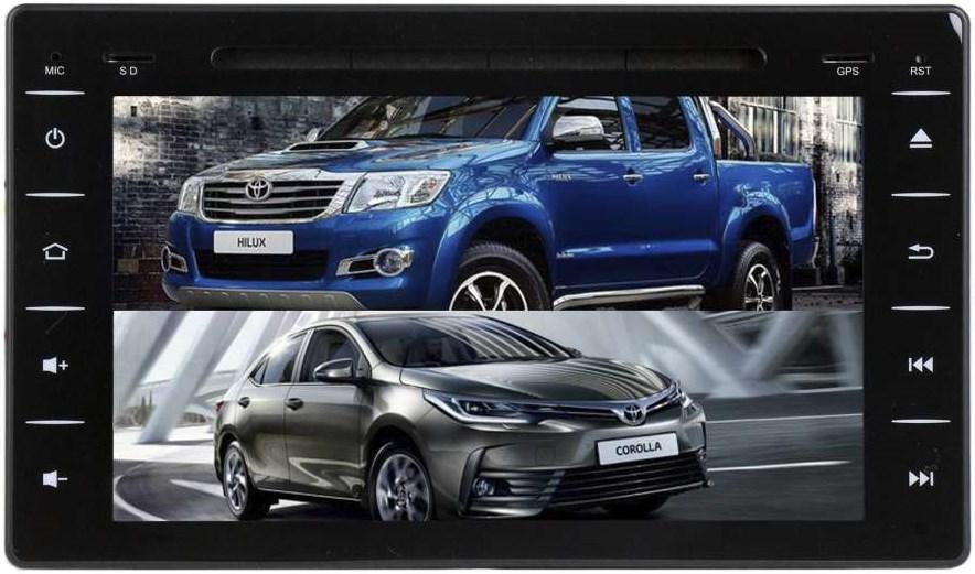 Штатная магнитола Toyota Corolla XI 2016-2019, Corolla XII 2019-2020 LeTrun 2044 на Android 7.1.1 (+ Камера заднего вида в подарок!)