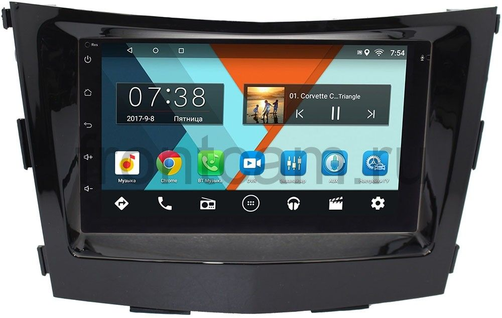 Штатная магнитола SsangYong Tivoli, XLV 2015-2018 Wide Media MT7001-RP-SYTV-16 на Android 7.1.1 (+ Камера заднего вида в подарок!)