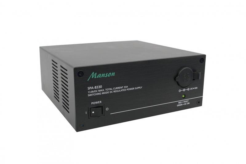 Блок питания MANSON SPA-8330 (33А, импульсный,13.8V)