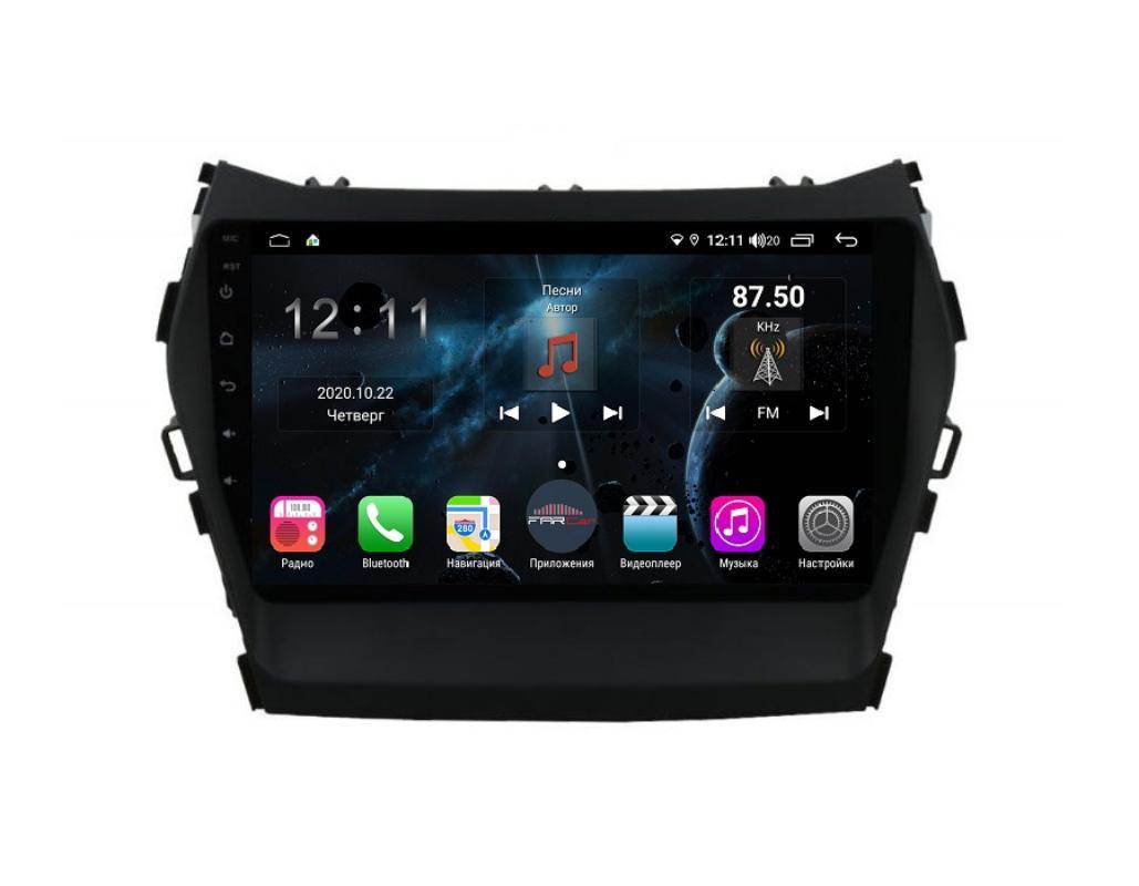 Штатная магнитола FarCar s400 для Hyundai Santa Fe 2012+ на Android (H209R) (+ Камера заднего вида в подарок!)