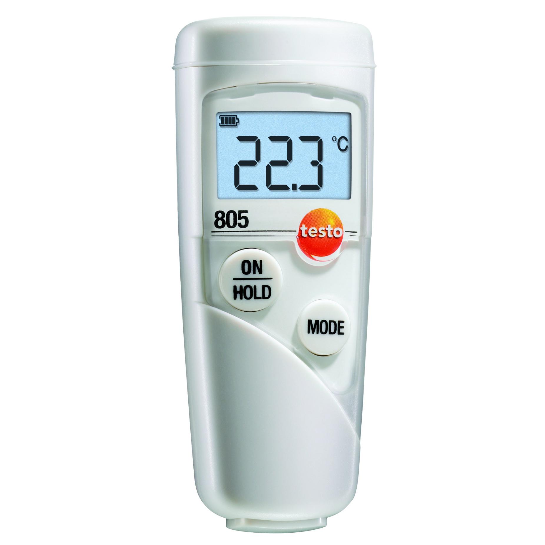 Термометр Testo 805 с чехлом TopSafe.