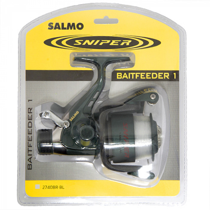 Катушка Salmo Sniper BAITFEEDER 1 40BR катушка для рыбалки salmo sniper baitfeeder 1 6000br
