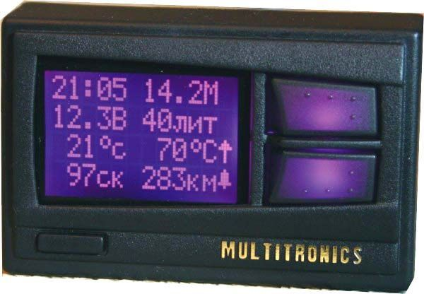 Бортовой компьютер Multitronics Comfort X11Бортовые компьютеры<br>Маршрутный компьютер Multitronics COMFORT X11 оснащен многоцветным (512 цветов) дисплеем RGB (цвет можно устанавливать самостоятельно) и может быть установлен на автомобили ВАЗ 10-й серии. Голосовое сопровождение. Поддерживаются следующие типы блоков электронного управления (ЭБУ): Январь 5.1. (после 05.2000г.в.), Bosch M1.5.4., Bosch M1.5.4N, VS 5.1 Ительма, Январь 7.2 Ительма, Bosch MP 7.0, Bosch M7.9.7, M73.
