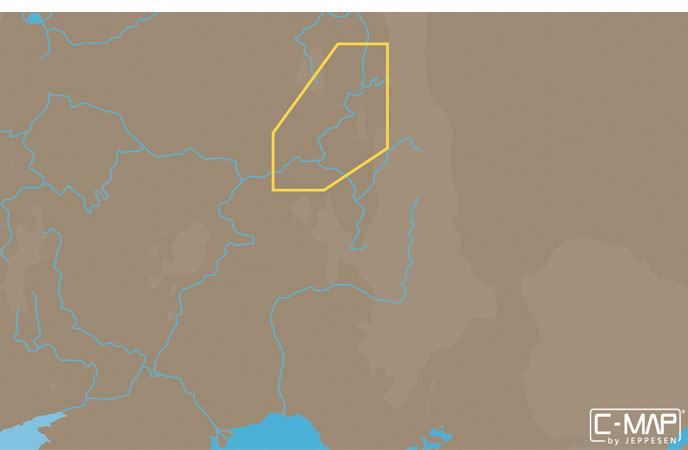 Карта C-MAP RS-N216 - Река Кама