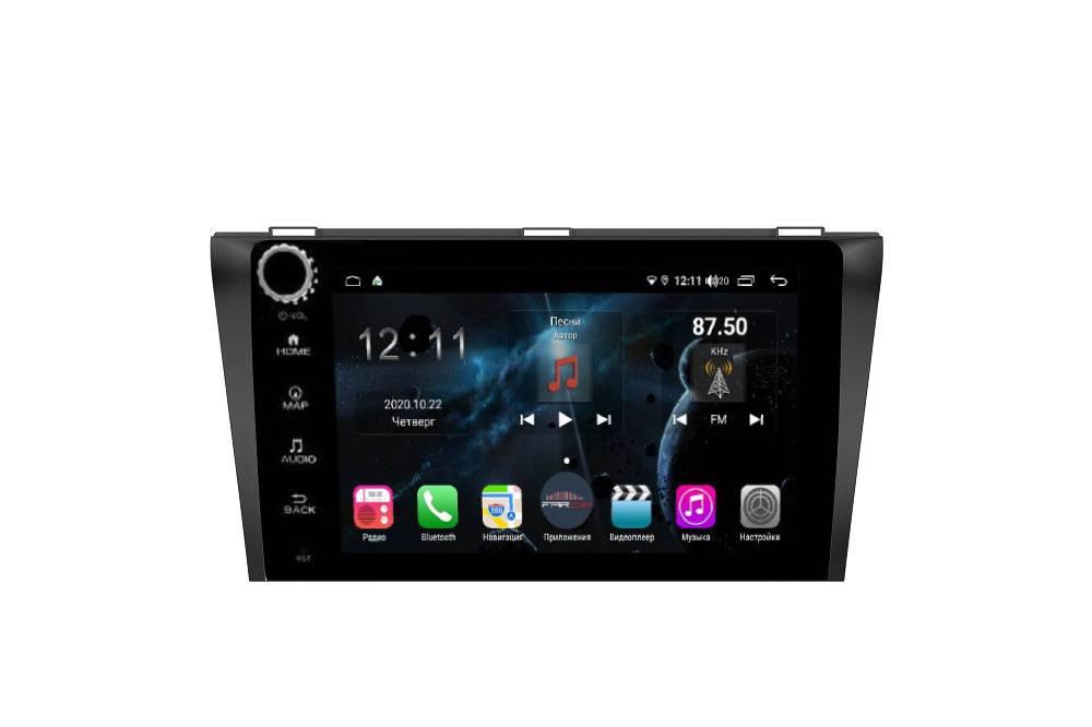 Штатная магнитола FarCar s400 для Mazda 3 на Android (H161RB) (+ Камера заднего вида в подарок!)