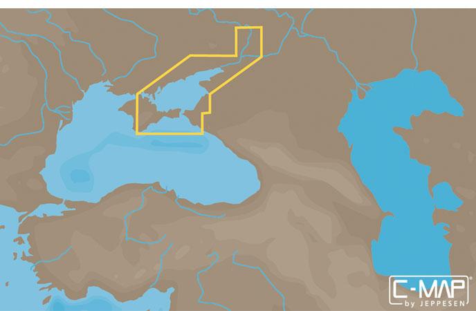 Карта C-MAP RS-N235 - Волго-Донский канал и Азовское море