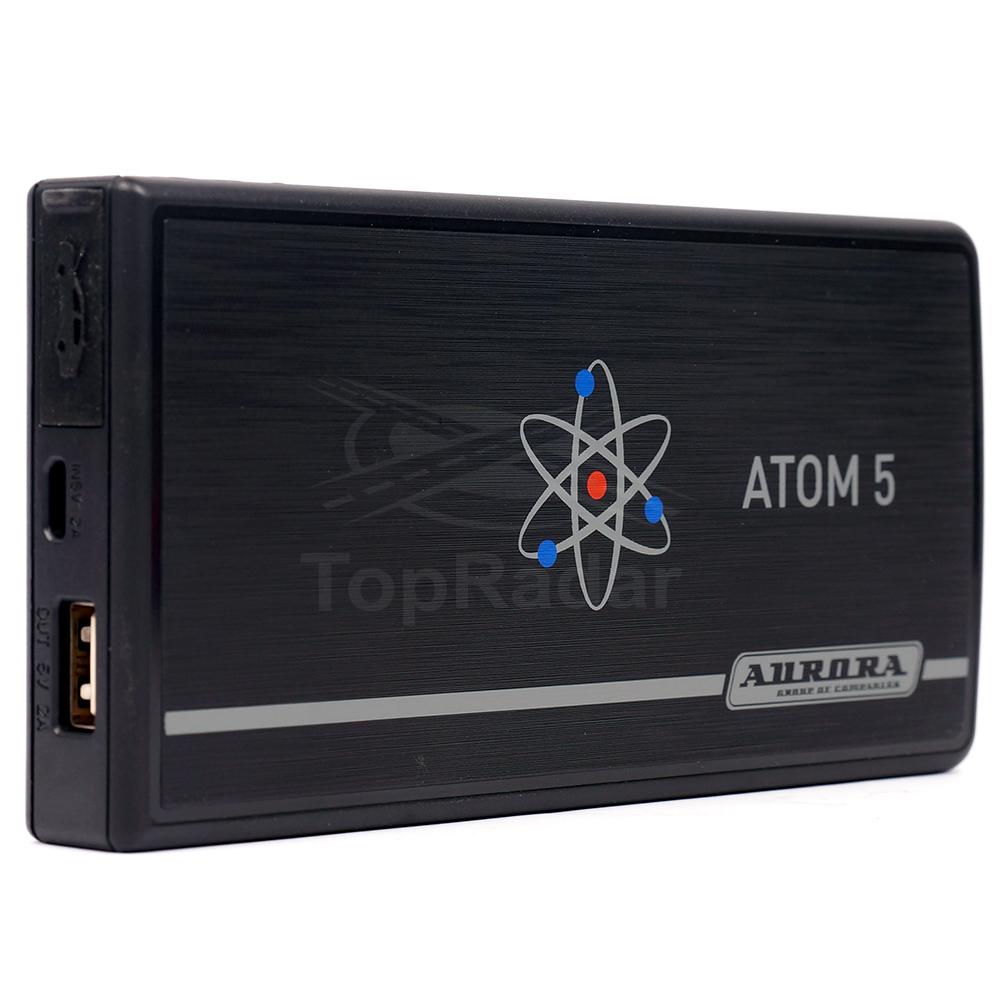 Пусковое устройство AURORA ATOM 5 5000 мА/ч пусковое устройство aurora double drive 3000 turbo