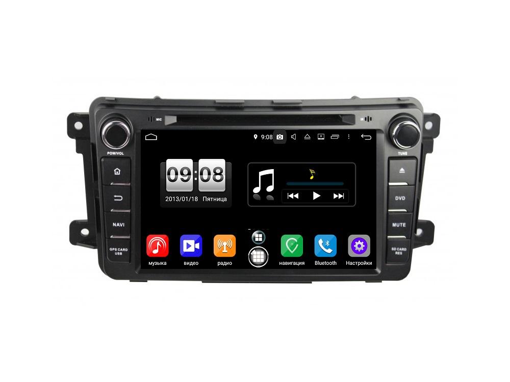 Штатная магнитола FarCar s250 для Mazda CX-9 2007-2015 на Android (RA459) (+ Камера заднего вида в подарок!) автомагнитола mazda 6