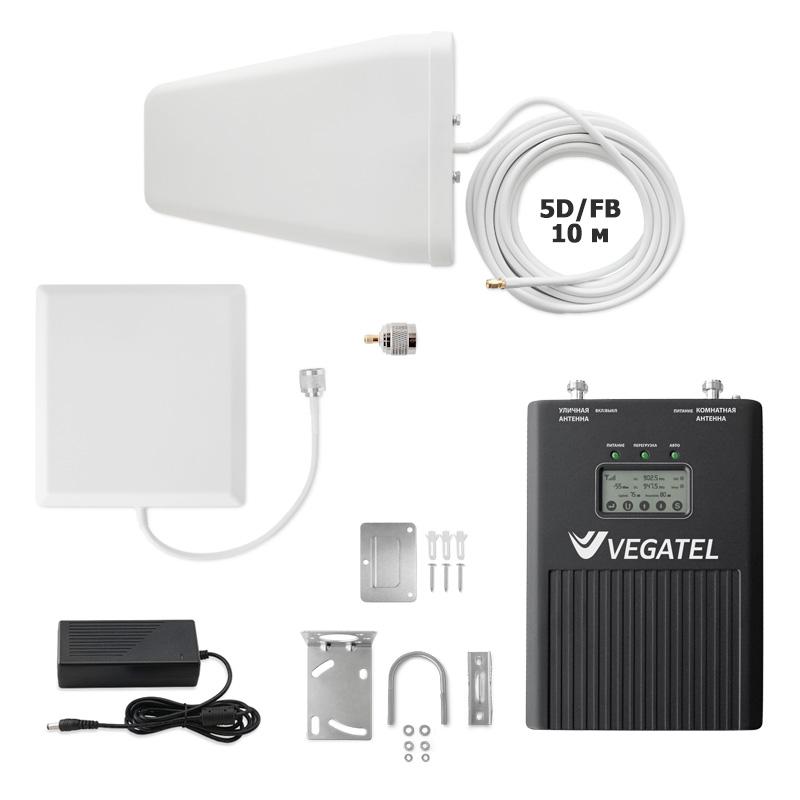 Фото - Усилитель сотовой связи VEGATEL VT3-900L (дом, LED) (+ кронштейн для антенны в подарок!) усилители слабого сигнала
