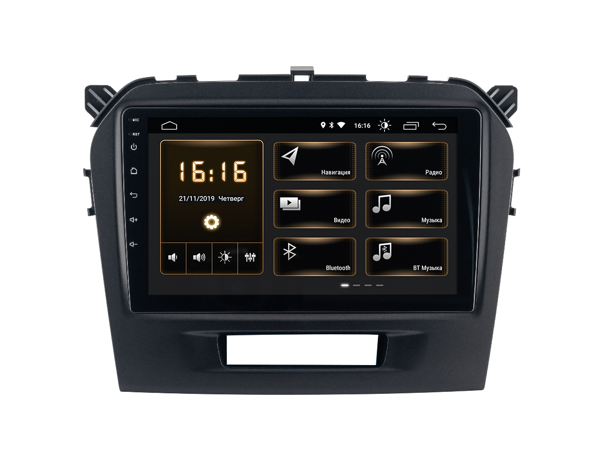 Штатная магнитола Incar XTA-1707r для Suzuki Vitara (Android 10) (+ Камера заднего вида в подарок!)