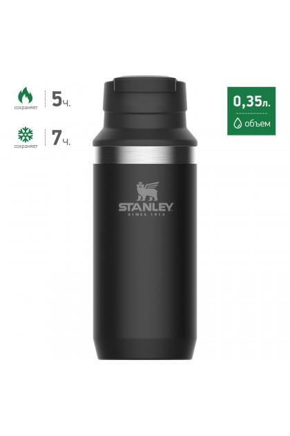 Черная термокружка STANLEY Adventure 0,35L 10-02284-016