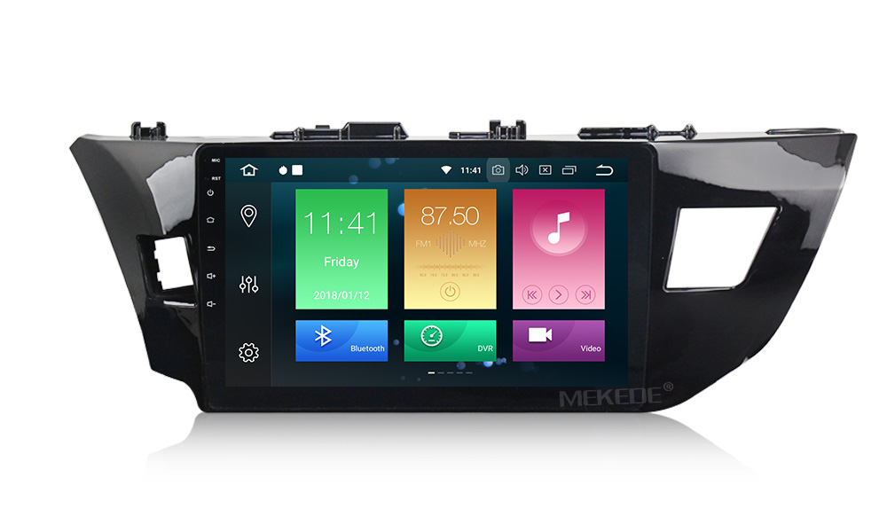 Штатная магнитола CARMEDIA MKD-1035-P5-8 Toyota Corolla E180/E170 2013+ вместо штатной рамки lsqstar 8 android4 0 capacitive screen car dvd player w gps fm bt wifi swc tv aux for toyota prius