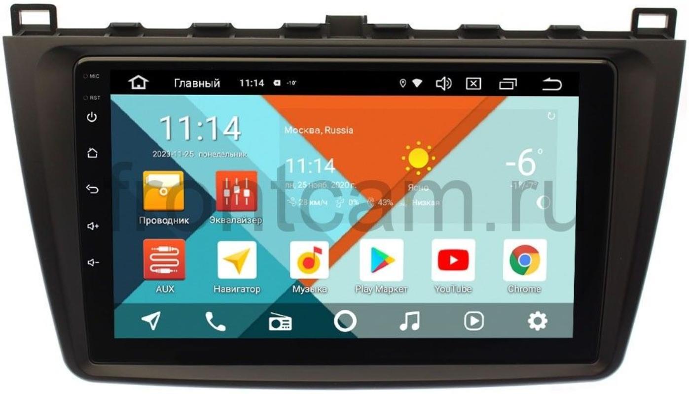 Штатная магнитола Mazda 6 (GH) 2007-2012 Wide Media KS9033QM-2/32 DSP CarPlay 4G-SIM на Android 10 (+ Камера заднего вида в подарок!)