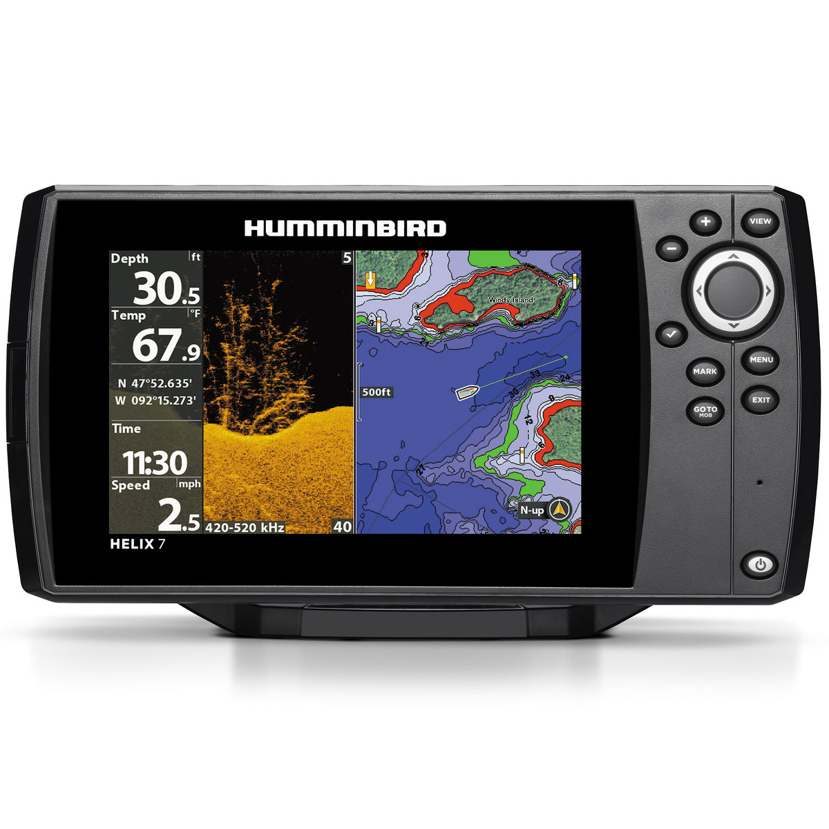 Эхолот Humminbird Helix 7x Chirp DI GPS G2N Eth/BT/ACL humminbird 688ci hd xd internal gps sonar combo xtreme depth fishfinder