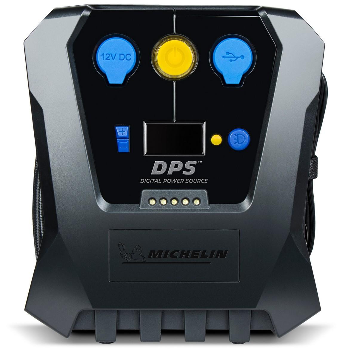 Картинка для Компрессор цифровой мембранный MICHELIN 12266(LED, USB,12В) (+ Мешки для колёс в подарок!)