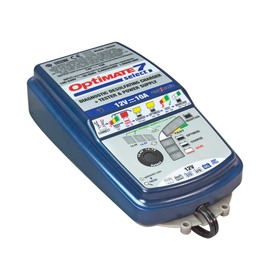 Зарядное устройство OptiMate 7 Select TM250 (+ Салфетки из микрофибры в подарок) купить по супер-цене