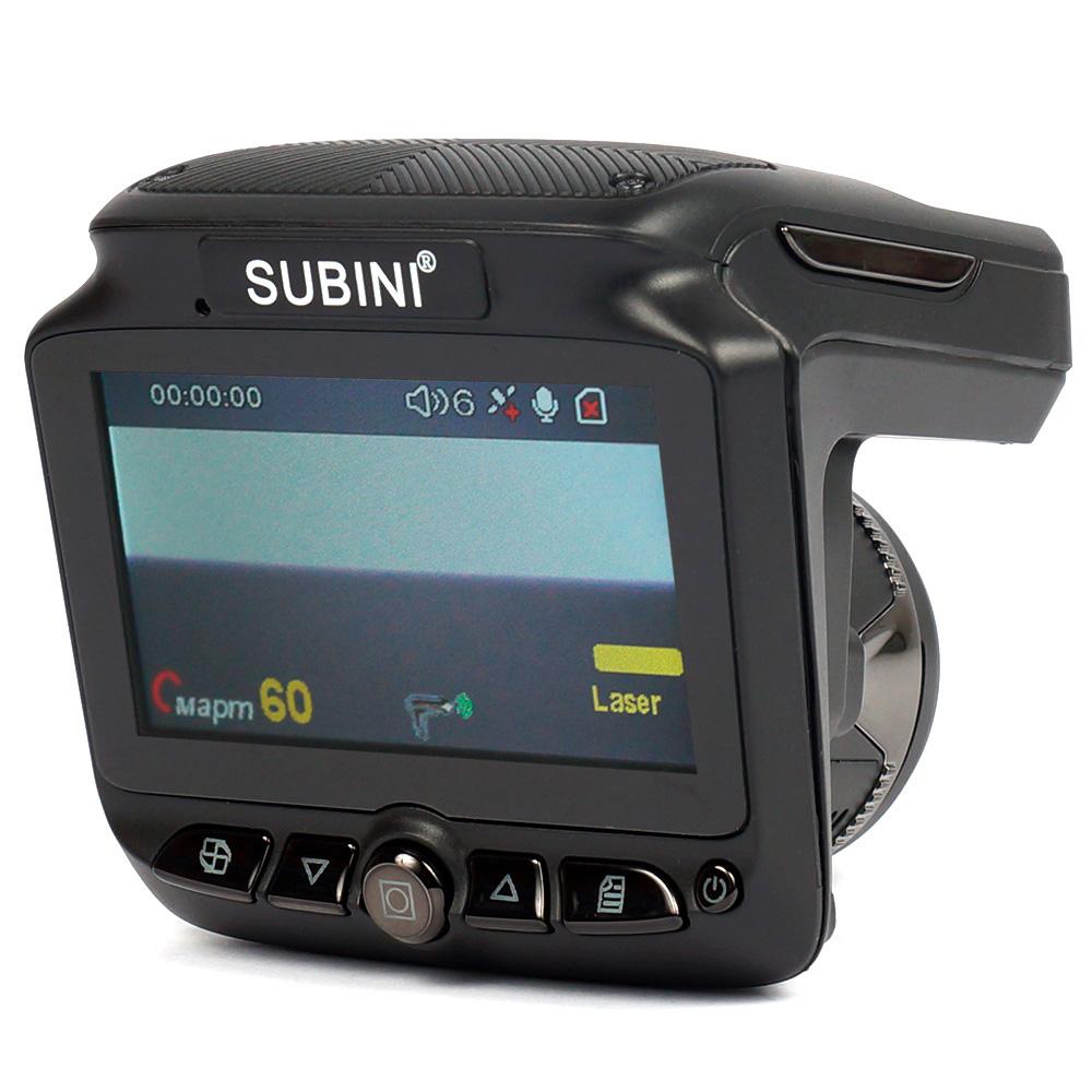 Видеорегистратор с радар-детектором Subini STR XT-3 (+ Антисептик-спрей для рук в подарок!)