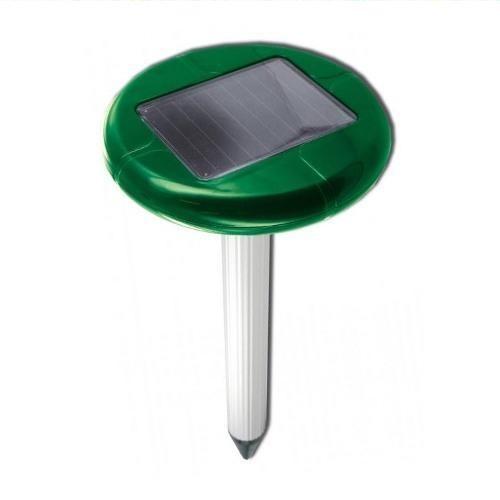 Отпугиватель кротов, змей на солнечной батарее Weitech WK-0677 Solar (350 м²)