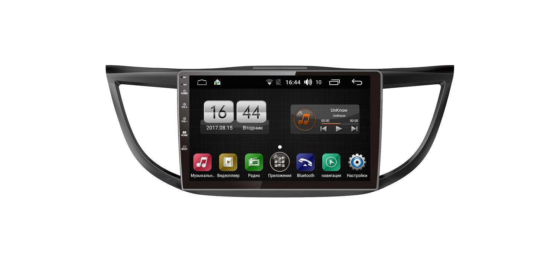 Штатная магнитола FarCar s185 для Honda CR-V 2012+ на Android (LY469R) (+ Камера заднего вида в подарок!)