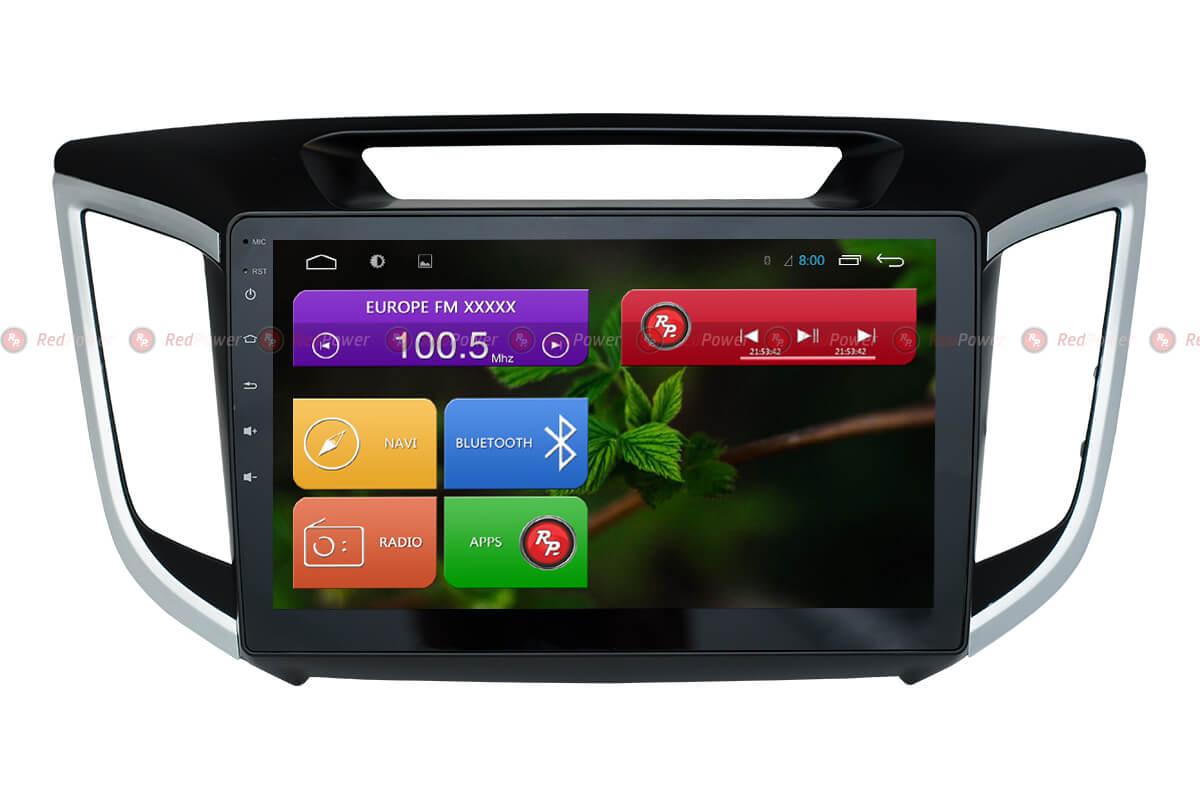 Автомагнитола для Hyundai Creta Redpower 31025 R IPS DSP ANDROID 7 автомагнитола для hyundai ix55 redpower 31197 ips dsp android 7