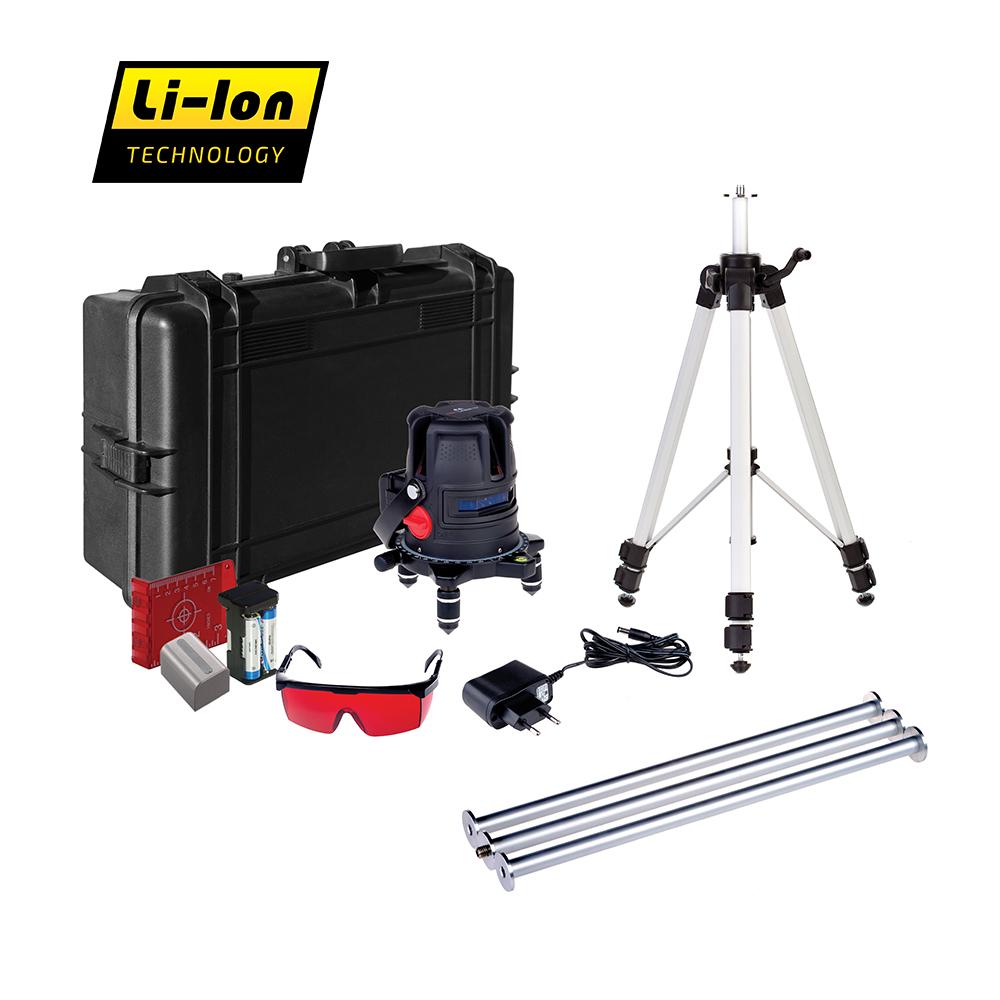 Лазерный уровень ADA PROLiner 4V Set лазерный нивелир ada ultraliner 360 4v