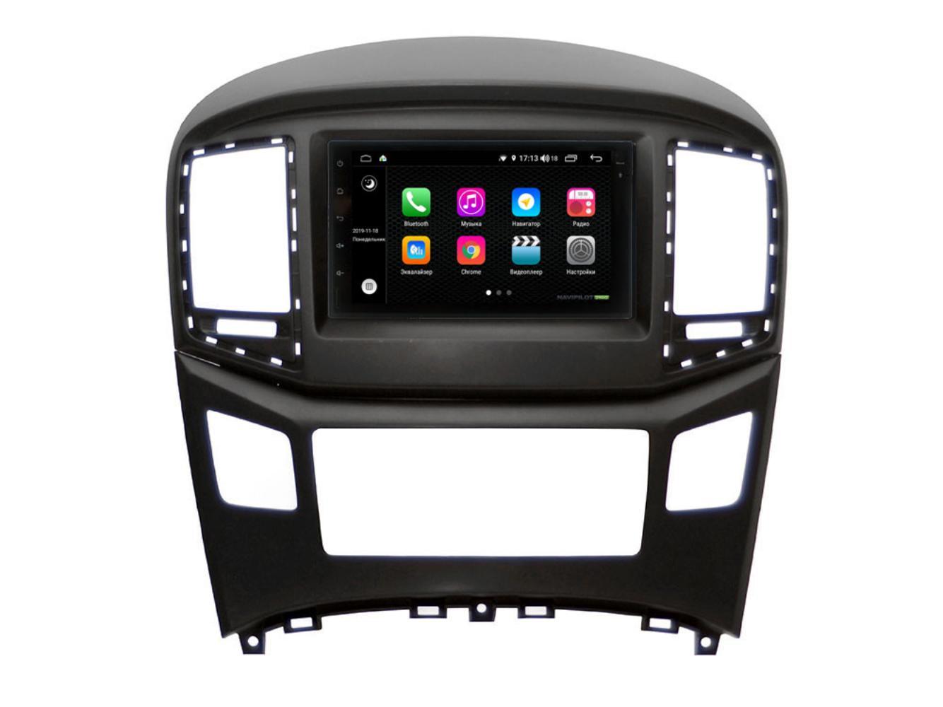 Автомагнитола NaviPilot DROID9L для Hyundai H1 - Grand Starex 2016 - н.в. FT (+ Камера заднего вида в подарок!)