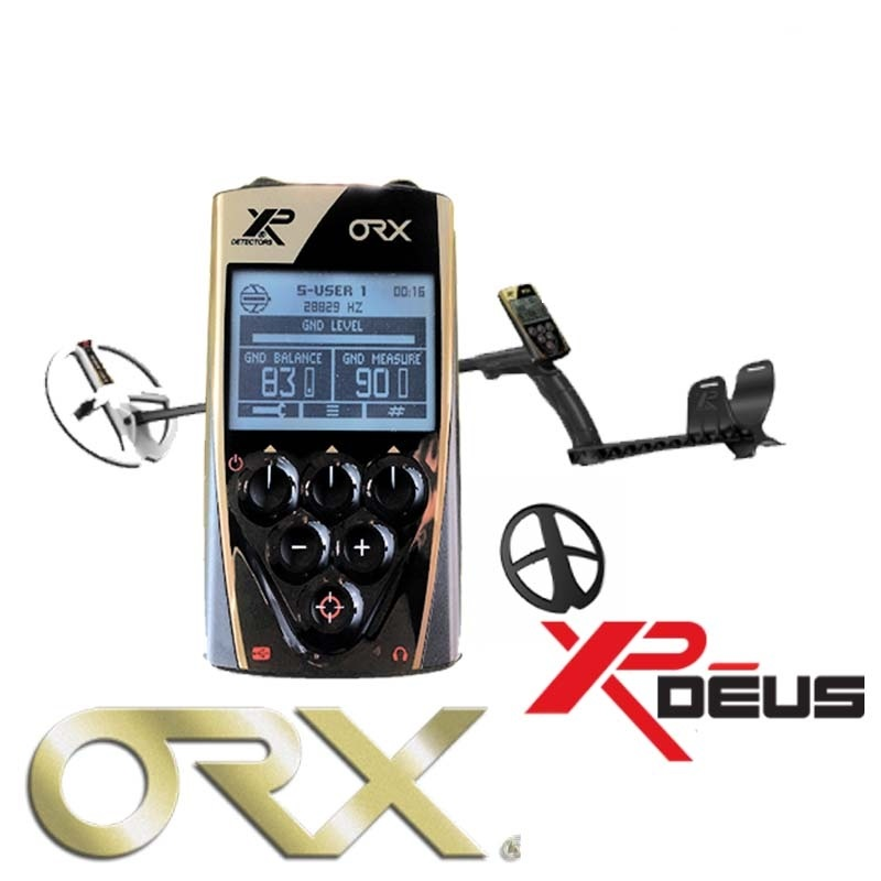 Металлоискатель XP Metal Detectors ORX (катушка HF 24х13 см, блок, наушники) 1 м
